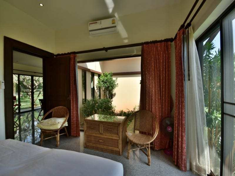 Balinese style villa for sale Dolphin Bay bedroom view
