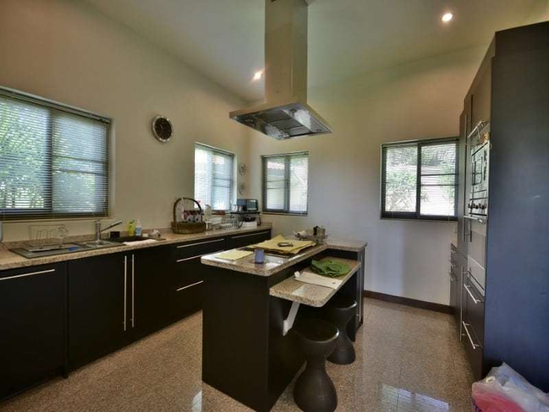 Balinese style villa for sale Dolphin Bay kitchen