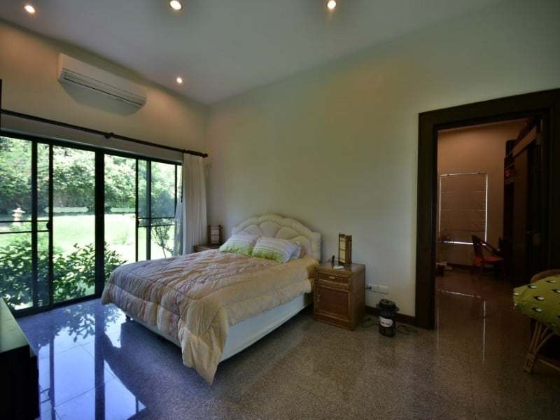 Balinese style villa for sale Dolphin Bay master bedroom