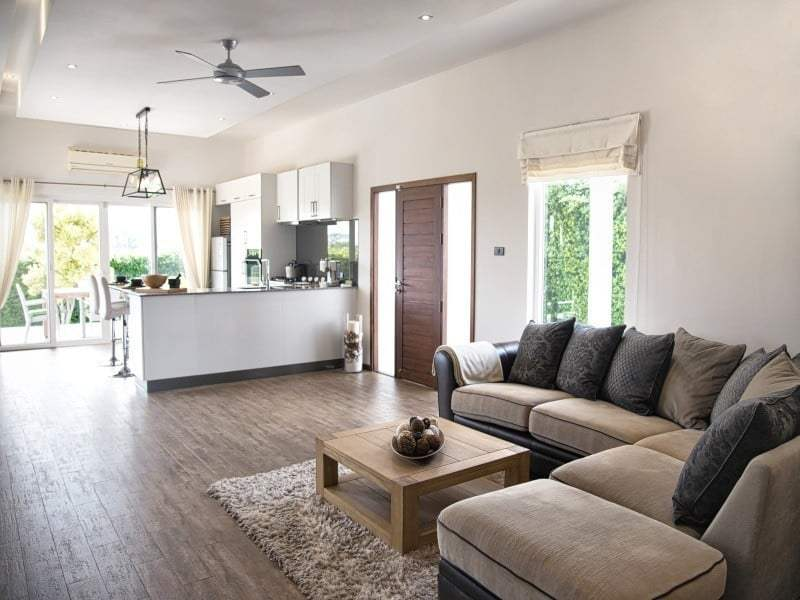 Hua Hin Mali Prestige start from 6,95 mil - living room