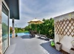 The Spirit Hua Hin villa for sale side garden