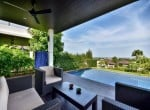 Sea view bungalow for sale Hua Hin pool terrace