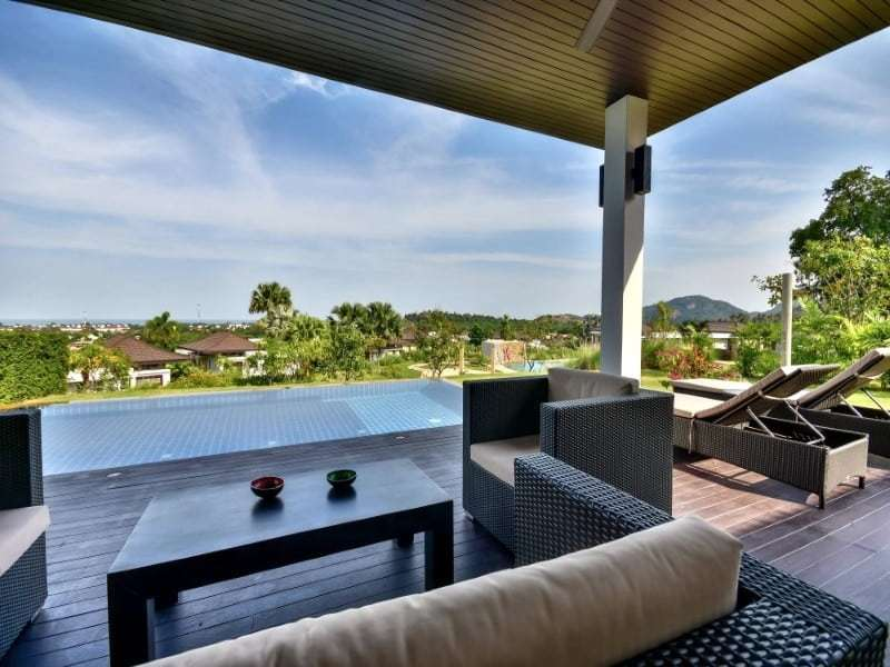 Sea view bungalow for sale Hua Hin view