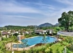 Sea view bungalow for sale Hua Hin rof view