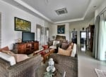 Home for sale Hua Hin with pool - living area