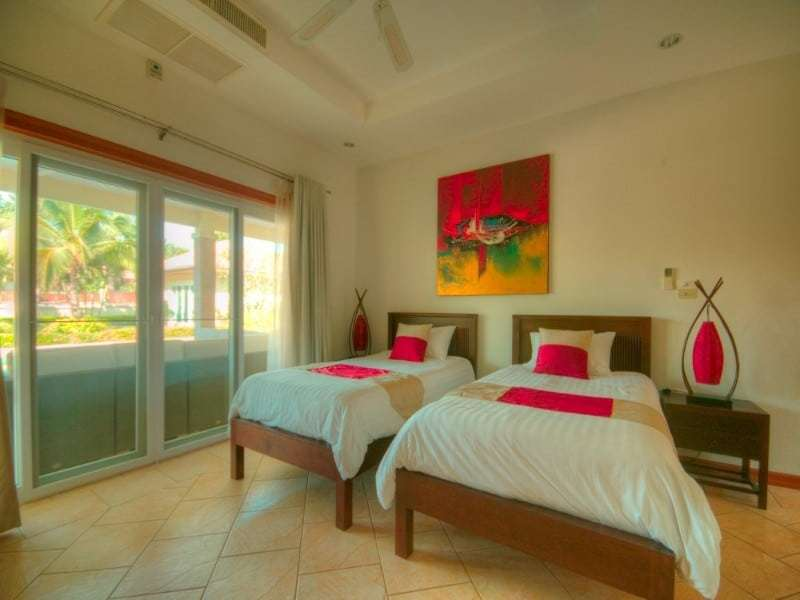Hua Hin Orchid Palm Homes 3 resale villa twin room