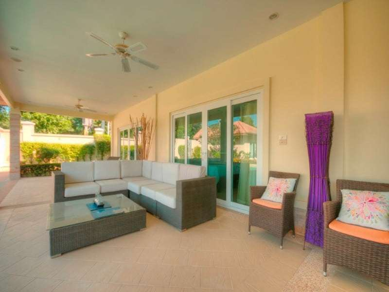 Hua Hin Orchid Palm Homes 3 resale villa outdoor