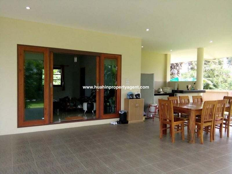 Cheap Pranburi house for sale front of house