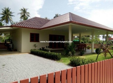 Cheap Pranburi house for sale street view