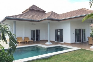 Resale villa Mali Prestige Hua Hin side view