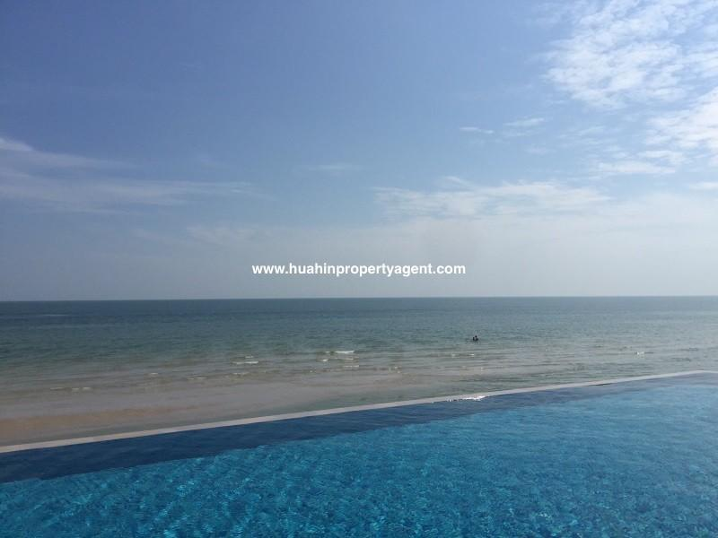 3 bed apartment for sale Hua Hin beachfront view