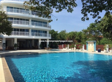3 bed apartment for sale Hua Hin beachfront pool