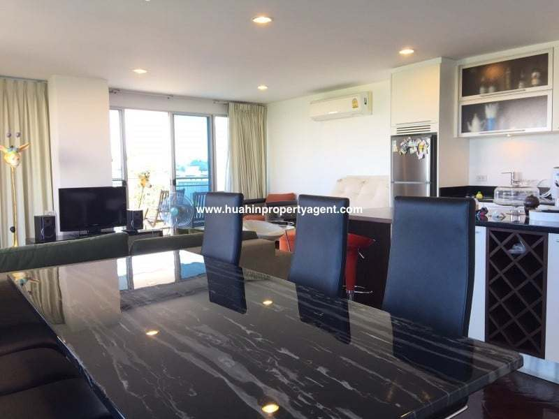 3 bed apartment for sale Hua Hin beachfront dining