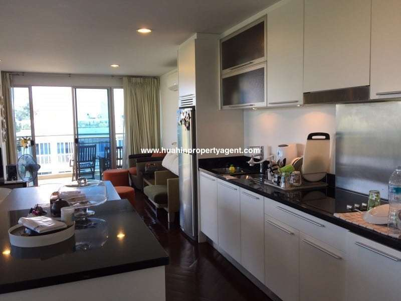 3 bed apartment for sale Hua Hin beachfront kitchen