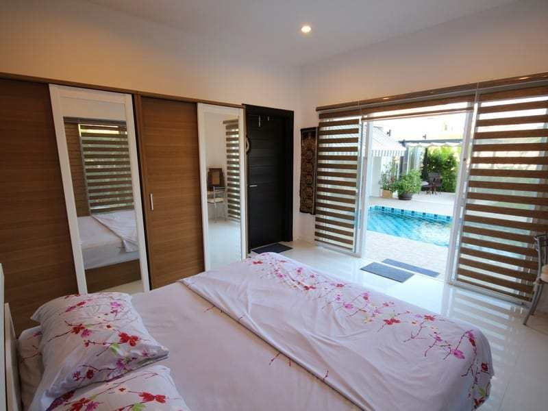 Pool villa for sale Hua Hin south master bedroom