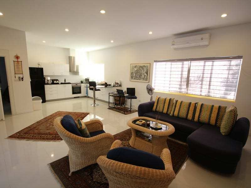 Pool villa for sale Hua Hin south lounge