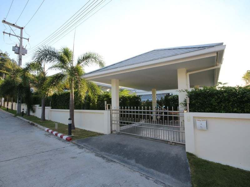 Pool villa for sale Hua Hin south Front