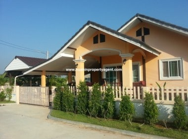 Small house for sale Hua Hin West street view