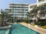 3 bedroom condo south of Hua Hin for sale pool