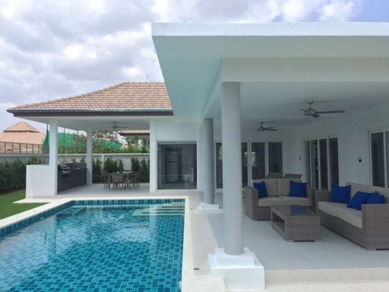 Orchid Palm Homes villa for sale veranda