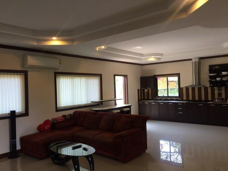 Villa with jacuzzi for sale Hua Hin open plan