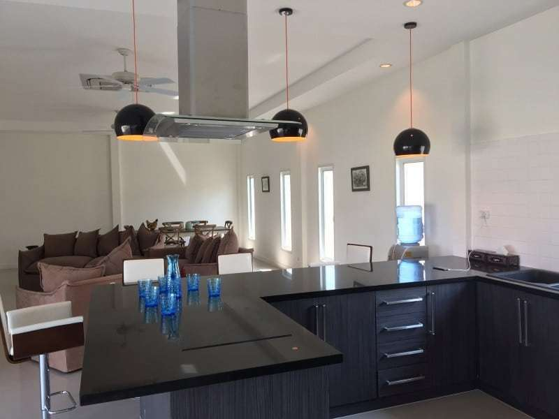 Spacious 4 bed home for sale Hua Hin kitchen