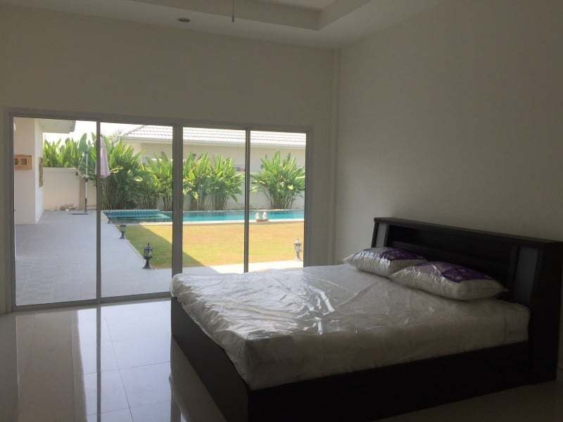 Spacious 4 bed home for sale Hua Hin master bedroom