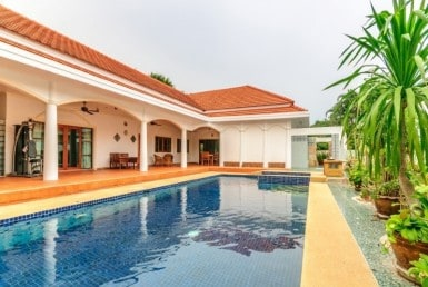 Siam Pool Villas house for sale palm pool terrace