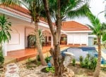 Siam Pool Villas house for sale palm trees