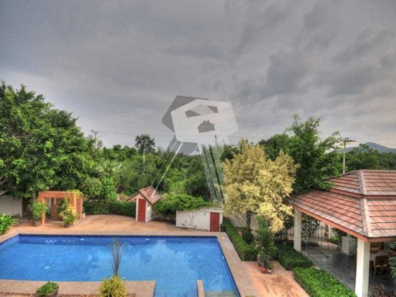 Large Hua Hin property for sale roof view