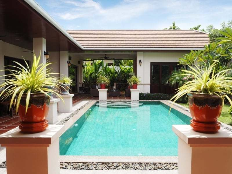Resort home for sale Hua Hin pool 2