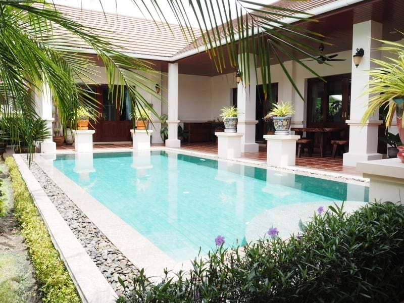 Resort home for sale Hua Hin pool