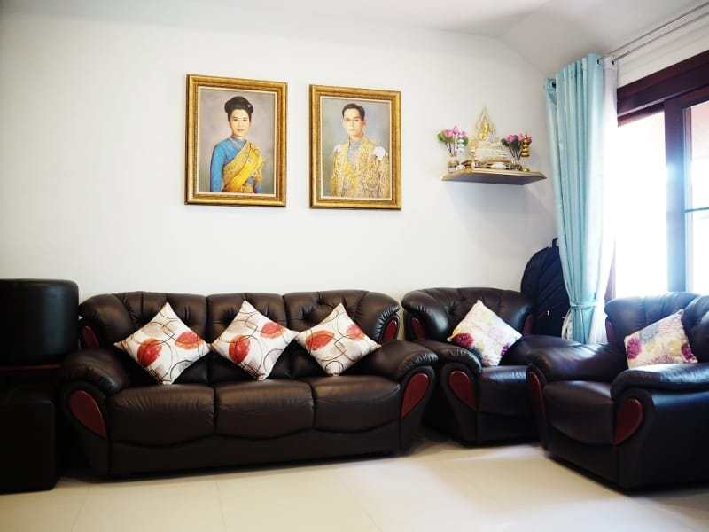 Resort home for sale Hua Hin sofa
