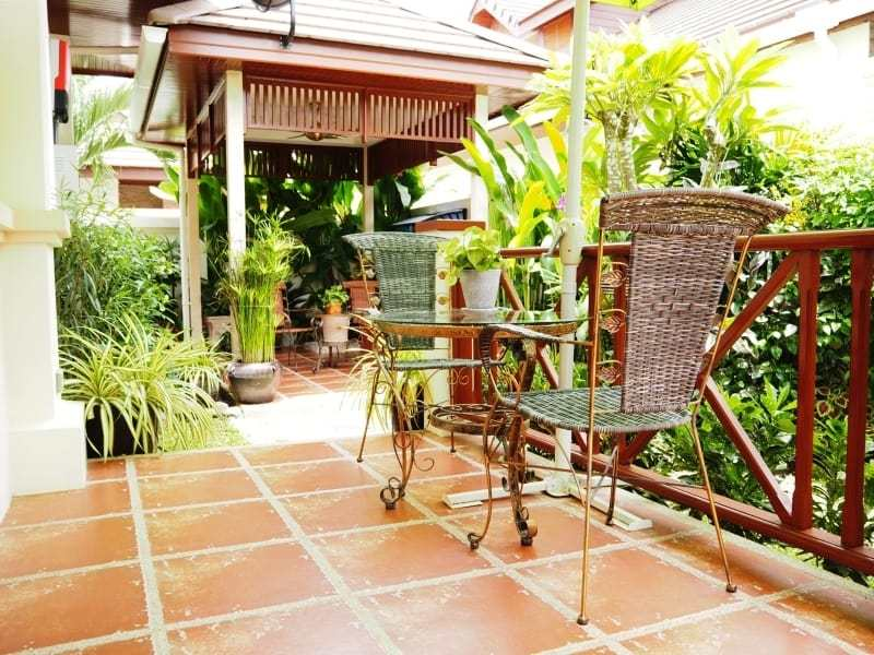Resort home for sale Hua Hin outdoor