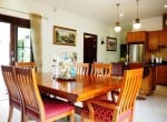 Resort home for sale Hua Hin dining