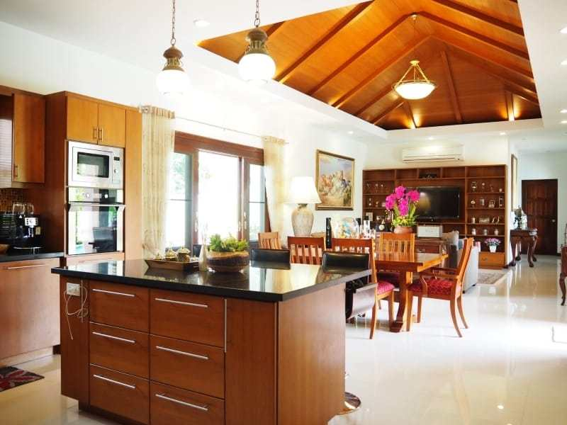 Resort home for sale Hua Hin living 2