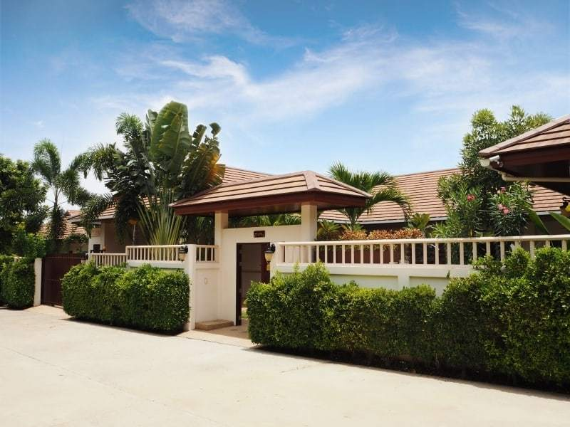 Resort home for sale Hua Hin front entrance