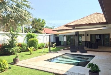 Hana Village Pranburi house for sale pool