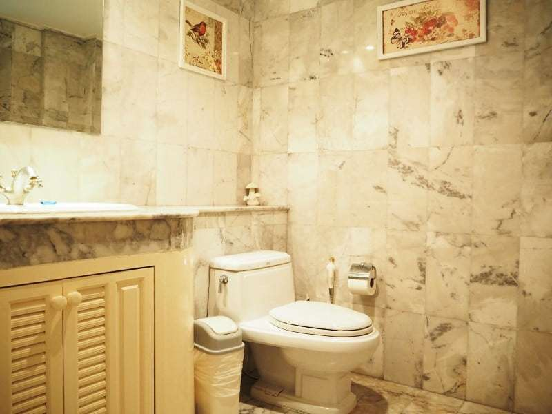 Property for sale Hua Hin on 2 levels marble bathroom