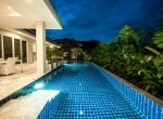 Resale pool villa Hua Hin pool length