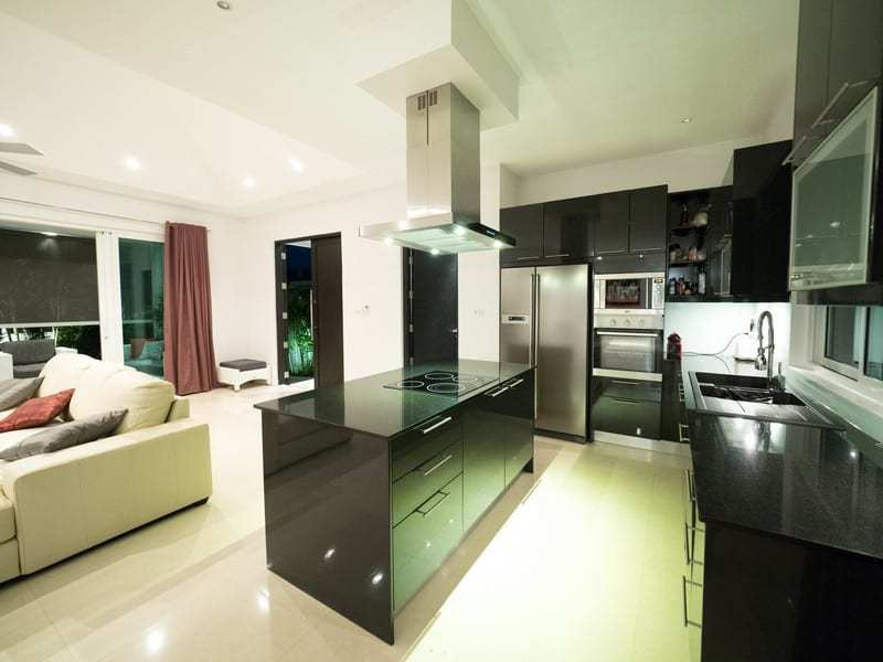 Resale pool villa Hua Hin kitchen