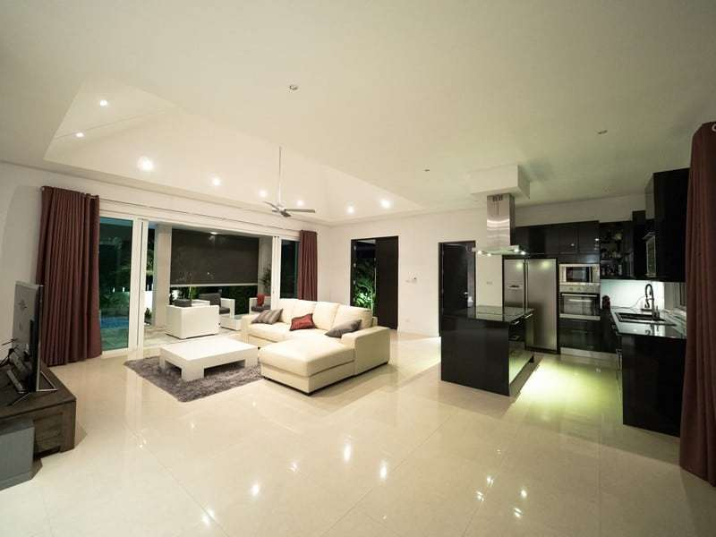 Resale pool villa Hua Hin living