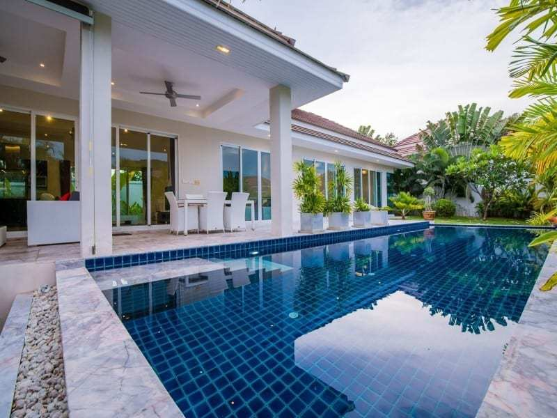 Home for sale Red Mountain Hua Hin Woodlands Type D pool view