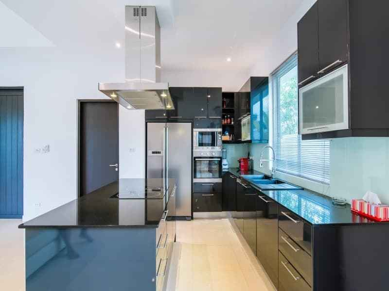 Home for sale Red Mountain Hua Hin Woodlands Type D kitchen island