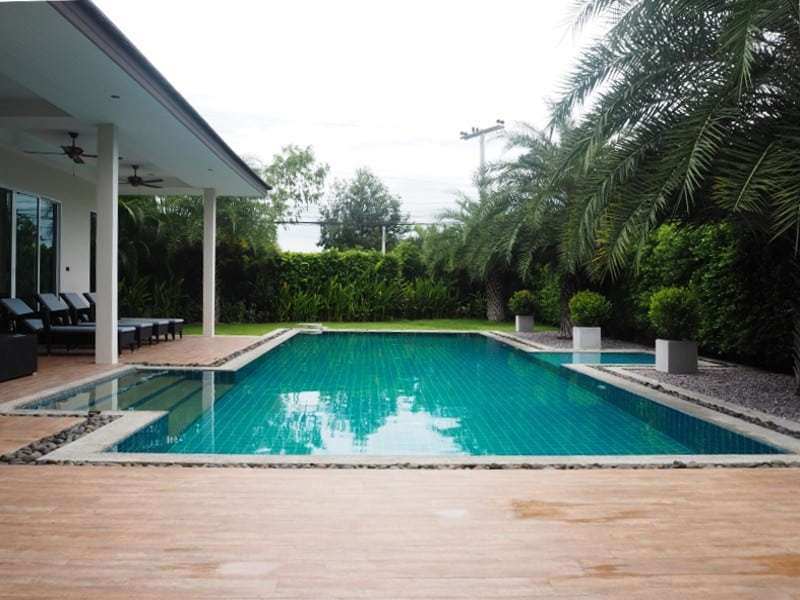 Spacious resale villa Hua Hin for sale pool view