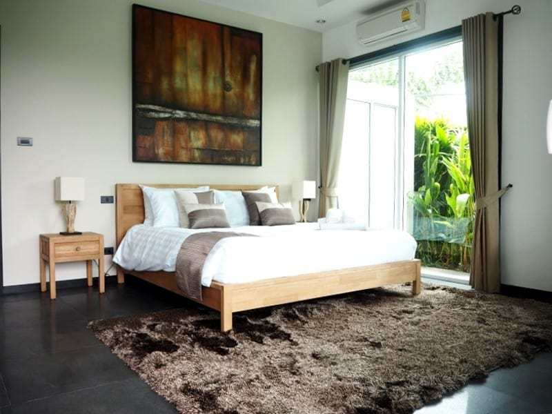 Spacious resale villa Hua Hin for sale master bed