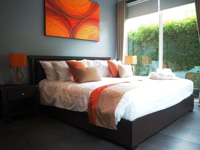 Spacious resale villa Hua Hin for sale king bed