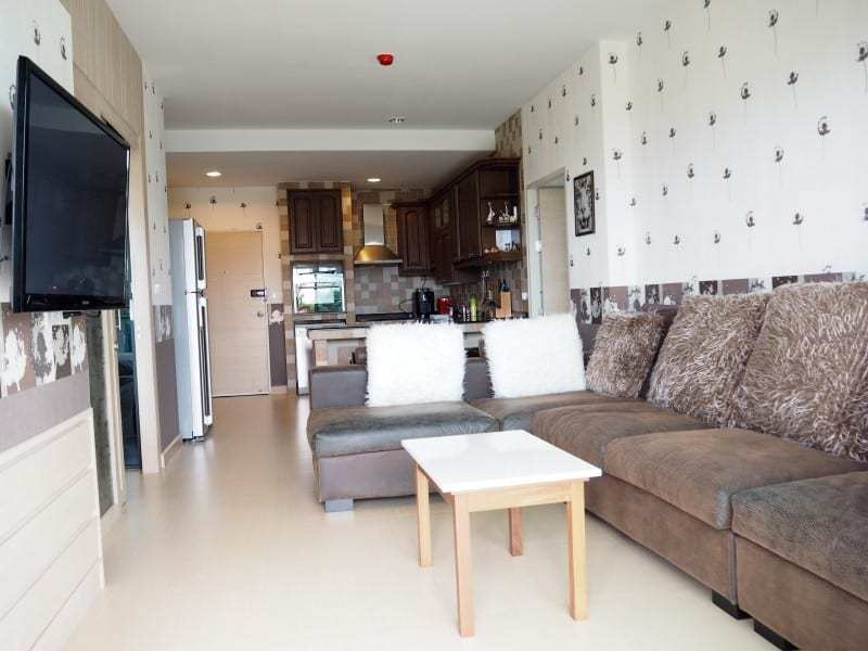 Well sized Hua Hin apartment for sale lounge