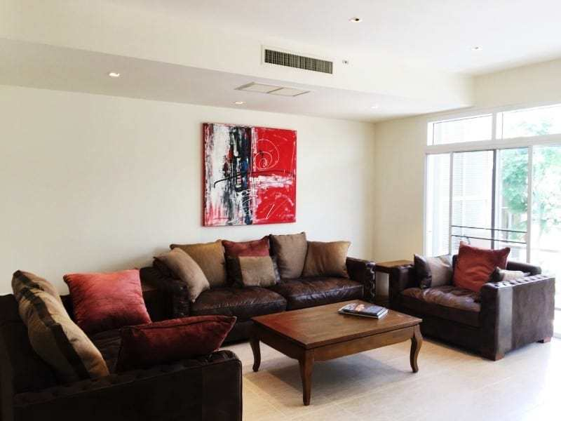 Cha Am Blue Lagoon apartment for sale - living room