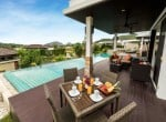Hua Hin The Spirit villa for sale outdoor dining